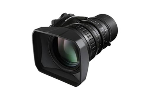 """[Photo]Portable zoom lens for broadcasting """"FUJINON LA16x8"""""""