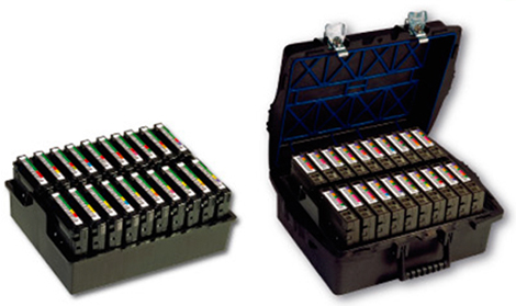 [photo] Pro Case with LTO tray that holds 20 Enterprise Cartridges