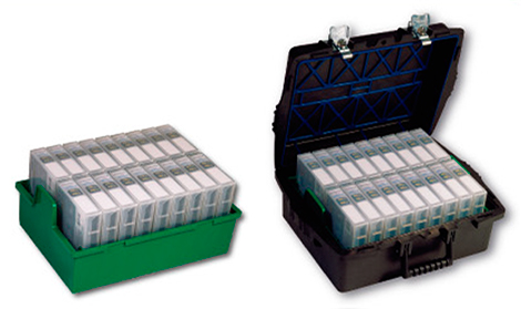 [photo] Pro Case with LTO tray that holds 18 LTO Cartridges