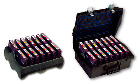 [photo] Pro Case with LTO tray that holds 14 LTO Cartridges