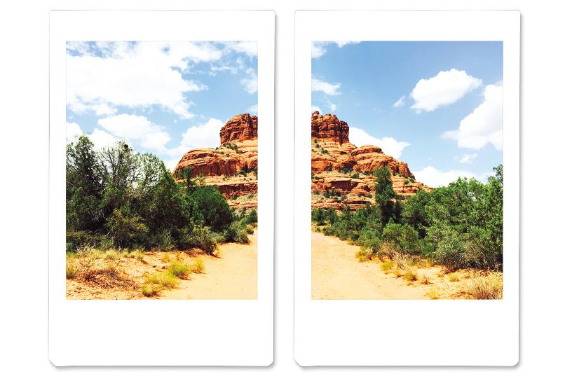 Image d'une image divisée en deux images