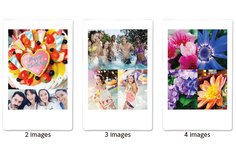 Image avec collage de photos