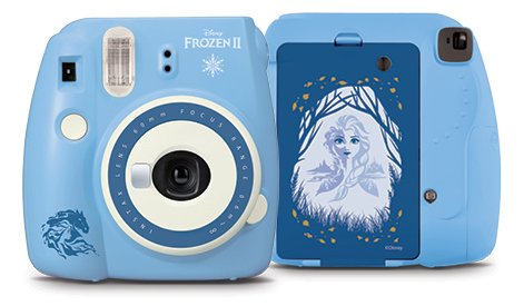 Front and Back view of INSTAX Mini 9 Frozen 2 camera