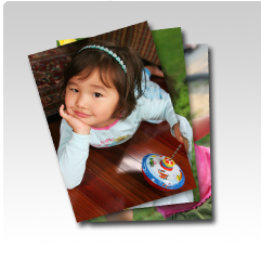 Portrait d'enfants en consommables jet d'encre pour minilab