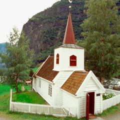 Bannière vinyle mate 15 Église