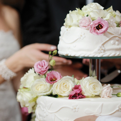 Paper Glossy example of Wedding cake