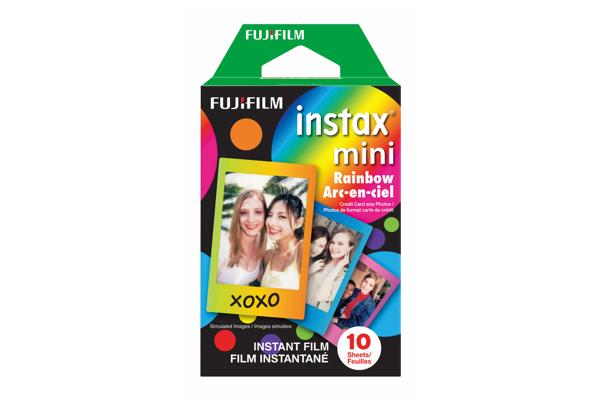 Boîte de films INSTAX Mini Arc-en-ciel