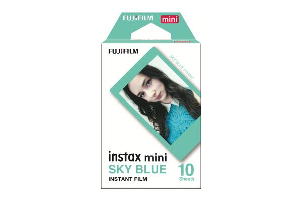 INSTAX Mini Sky Blue Film box