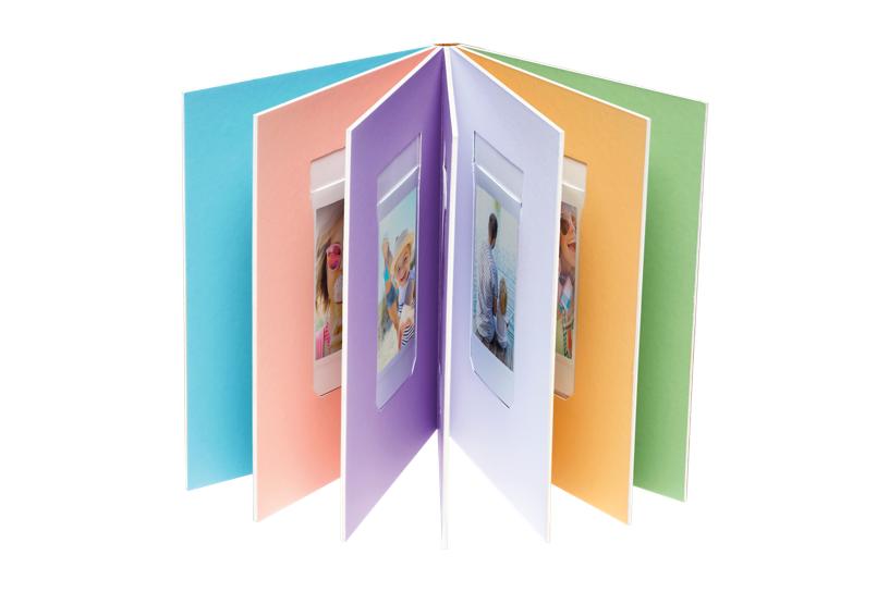 Pages intérieures de l'album photo