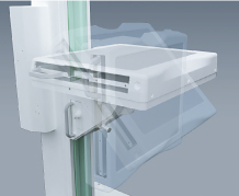 [photo] Exposure platform with adjustable function on x-ray stand