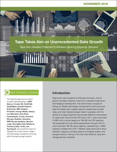 Tape Takes Aim on Unprecedented Data Growth