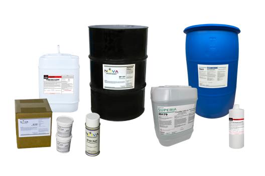 Fournitures de la salle de presse - Produits chimiques