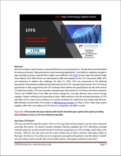 LTFS - Fueling the Tape Transformation