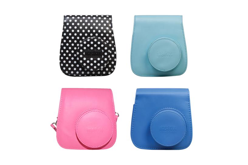 Étuis pour appareils photo Mini 9 en différentes couleurs