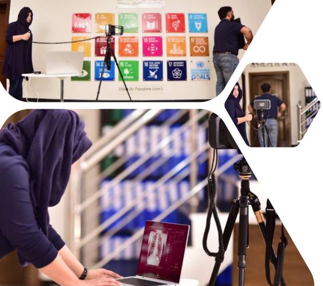 Fujifilm à l'événement Dopasi présentant XAir