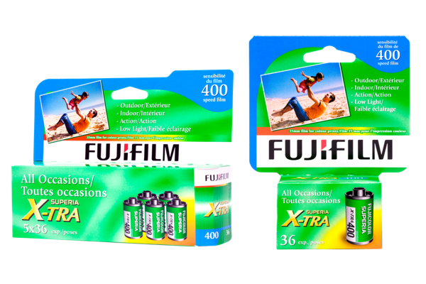 Boîte de films SUPERIA X-TRA 400