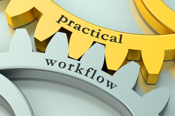 Practical and workflow interlocking gears