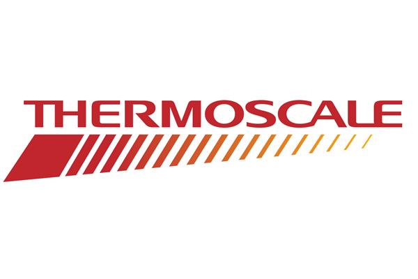 [logo] Thermoscale logo in red