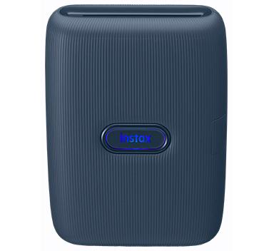 image of blue mini link printer