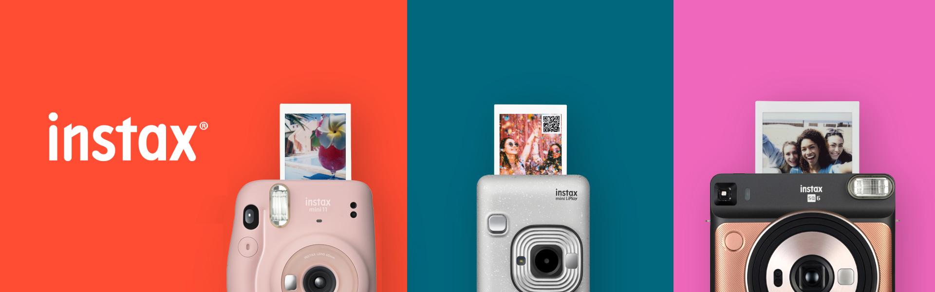 [photo] instax Cameras