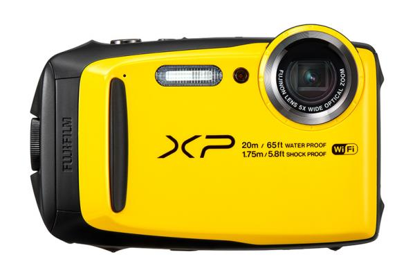 Image d'un appareil photo FinePix XP120 jaune