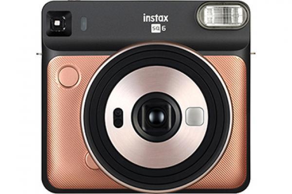 Black and Gold Square SQ6 Camera