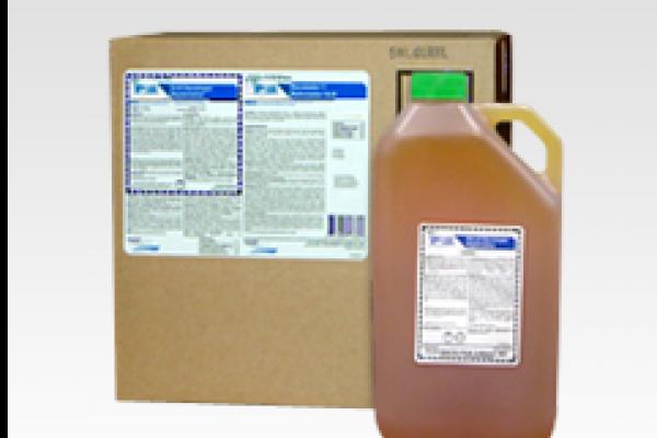 Boîte de produits chimiques Minilab traditionnels et bouteille de produit