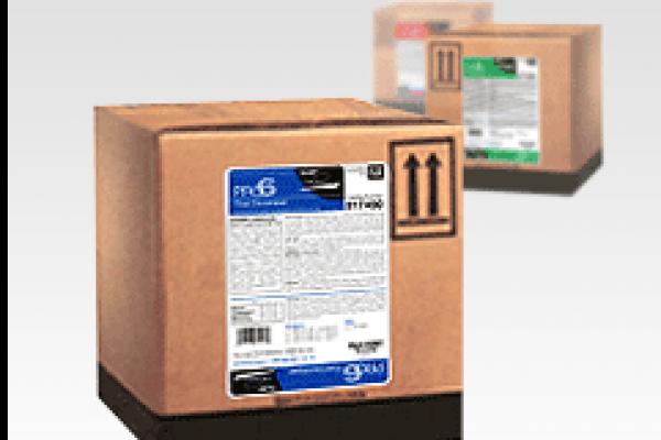 Boîte de produits chimiques E6