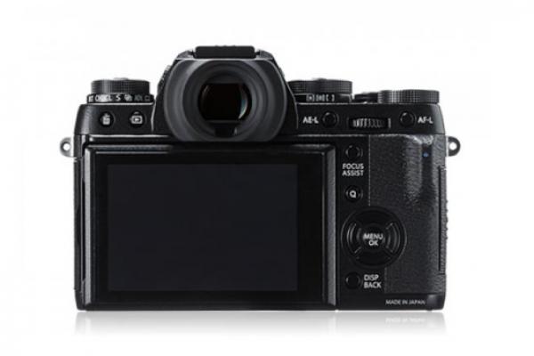 Arrière de l'appareil photo X-T1 IR