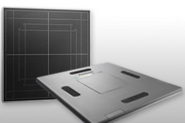 Image du détecteur FDR ES affichant l'avant et l'arrière.