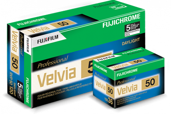 Film Velvia 50 Product Box