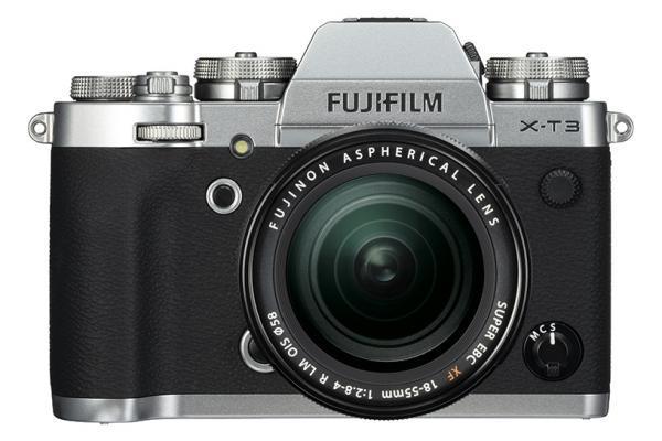 [photo] Système d'appareil photo Fujifilm X-T3argent et noir