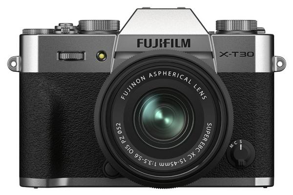 [photo] Fujifilm X-T30 II System Digital Camera - Silver and black