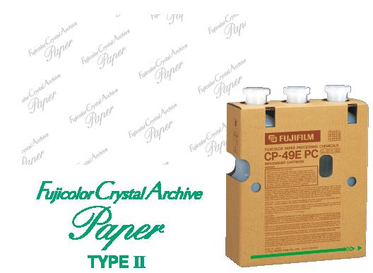 Papier typeII Fujicolor Crystal Archive
