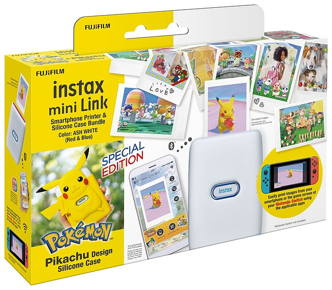 Nintendo Pikachu Silicone Case Package