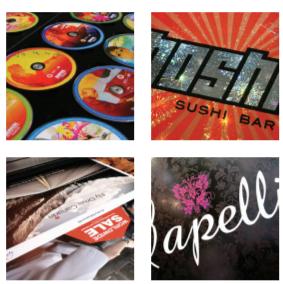 [imagen] Collage de cuatro imágenes de imágenes y logotipos publicitarios