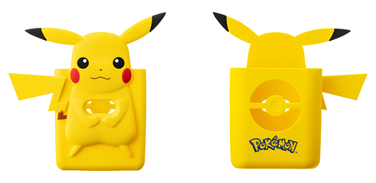 [image]Specially designed silicone case featuring Pikachu
