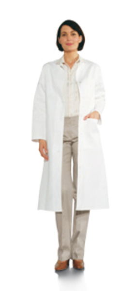 [photo] Doctor wearing lab coat with hand in coat pocket