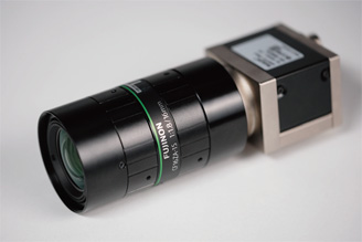 [photo] Small machine vision camera with CF-ZA series lens attached