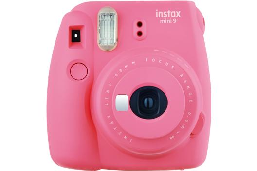 [foto] Cámara Instax Mini 9 en rosa