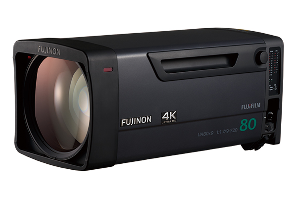 [photo] 4k Studio / Field lens model UA80x9BESM 1.2x EXT