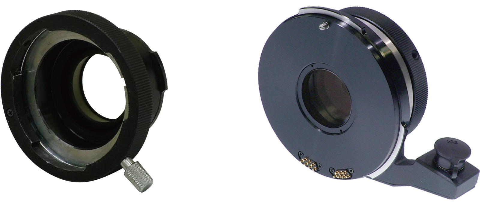 [foto] Dos adaptadores de montaje lado a lado