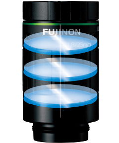 [image] FUJINON HF-XA-5M series lens construction has no misalignments inside