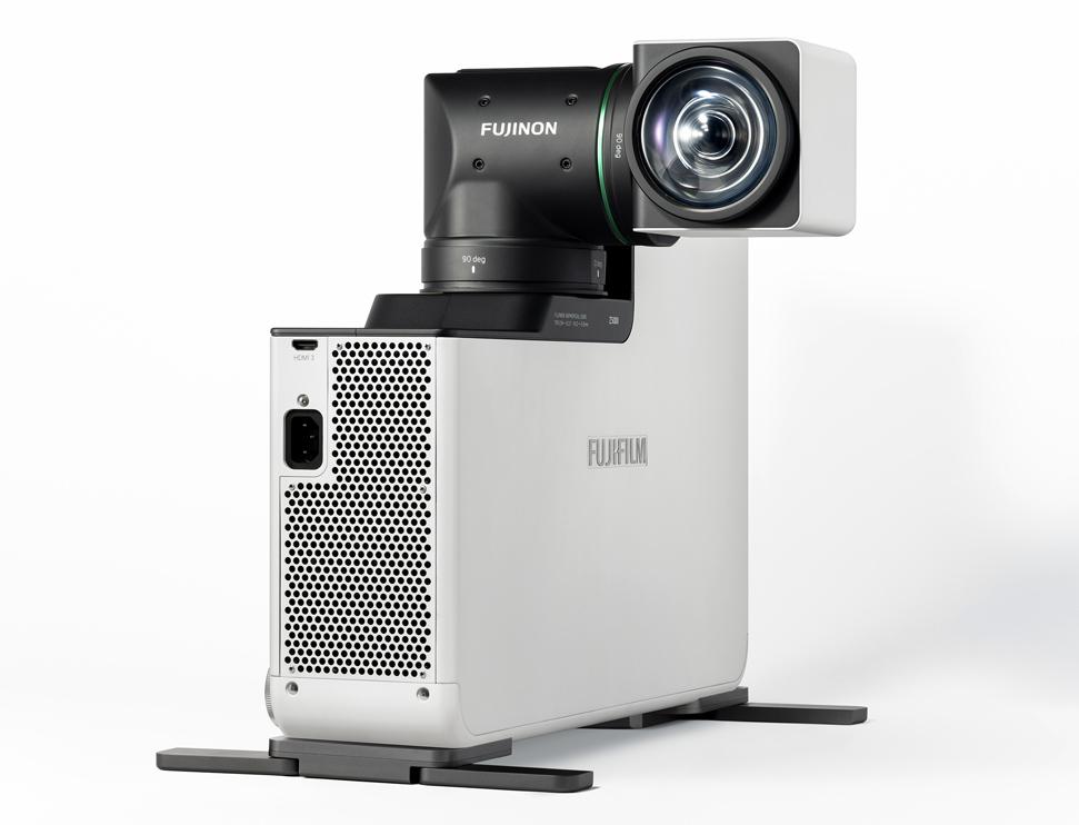 [foto] FP-Z5000 blanco en posición vertical