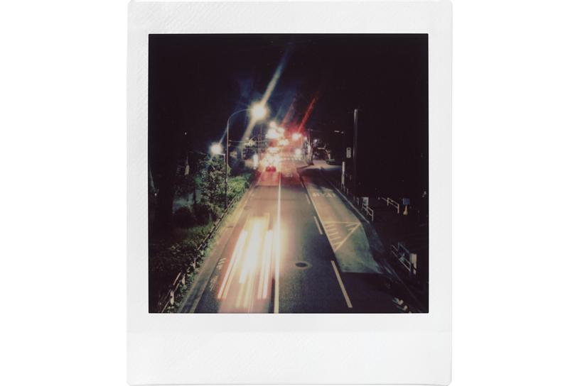 Image of photo of night city traffic
