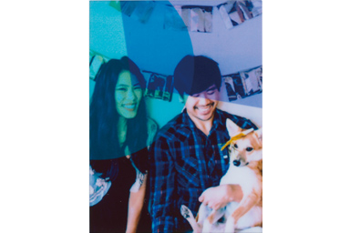 Color Filter 2 picture of a couple with a dog