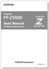 [imagen] Manual básico del proyector FP-Z5000
