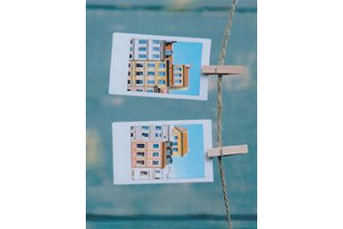 Imagen con filtro Foto en foto 5 de dos imágenes recortadas por una cuerda