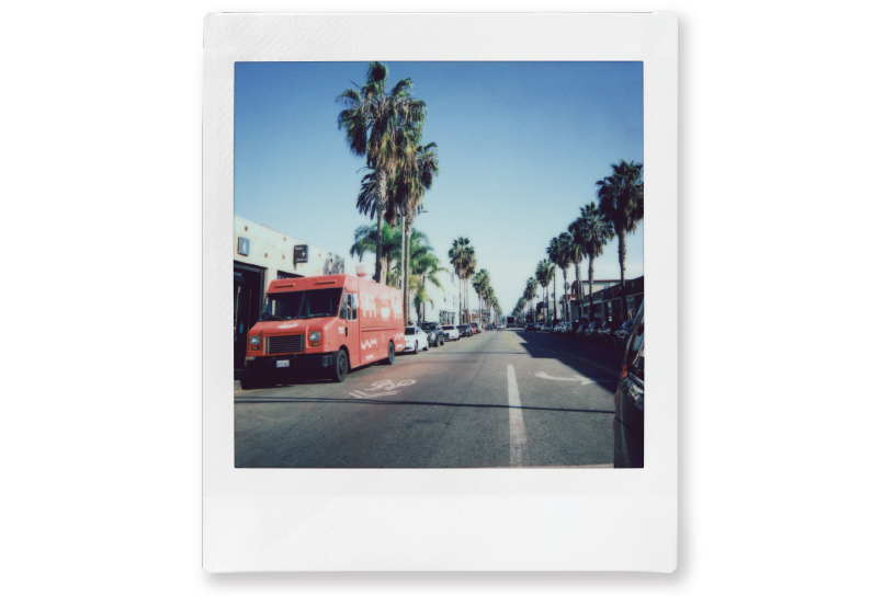 Image of a photo of a street