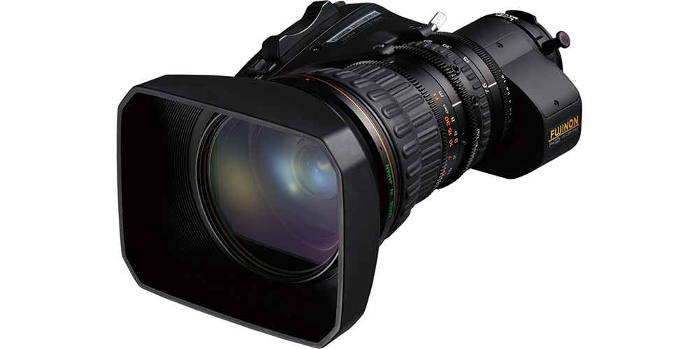 [photo] 2/3 inch HD SELECT lens model ZA17x7.6BERM / BERD